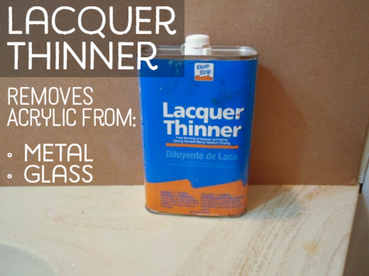 Acrylic Paint Thinner Acetone