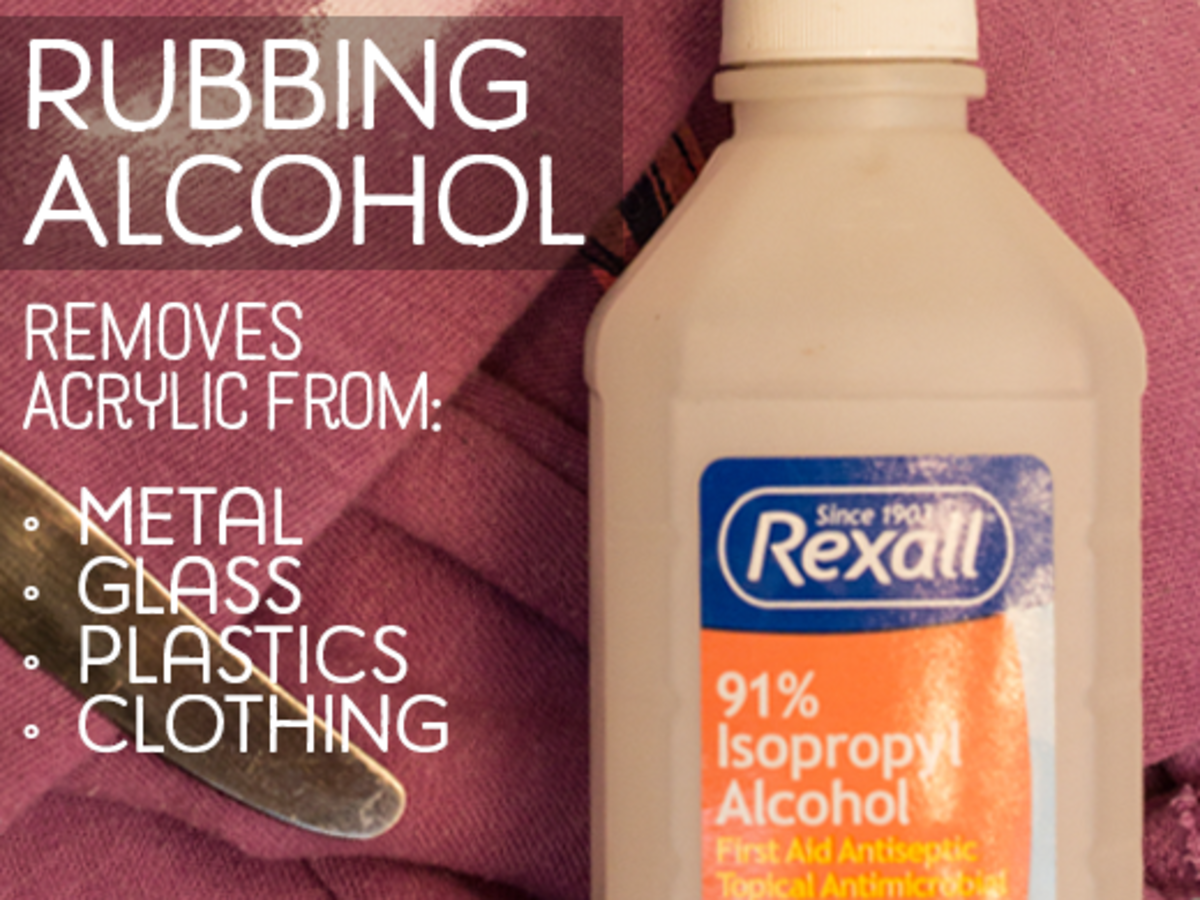 A bottle of 91% isopropyl alcohol
