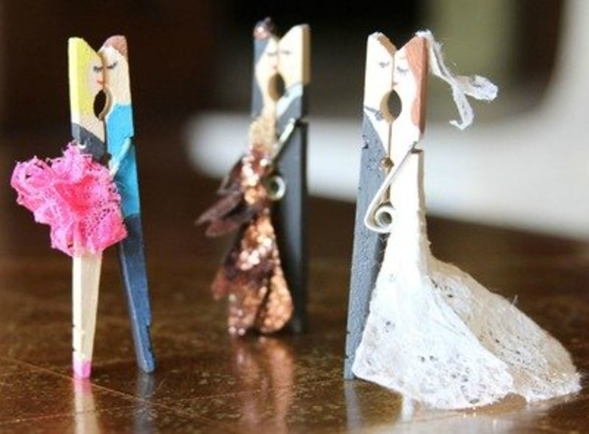 49 Cly Clothespin Craft Ideas