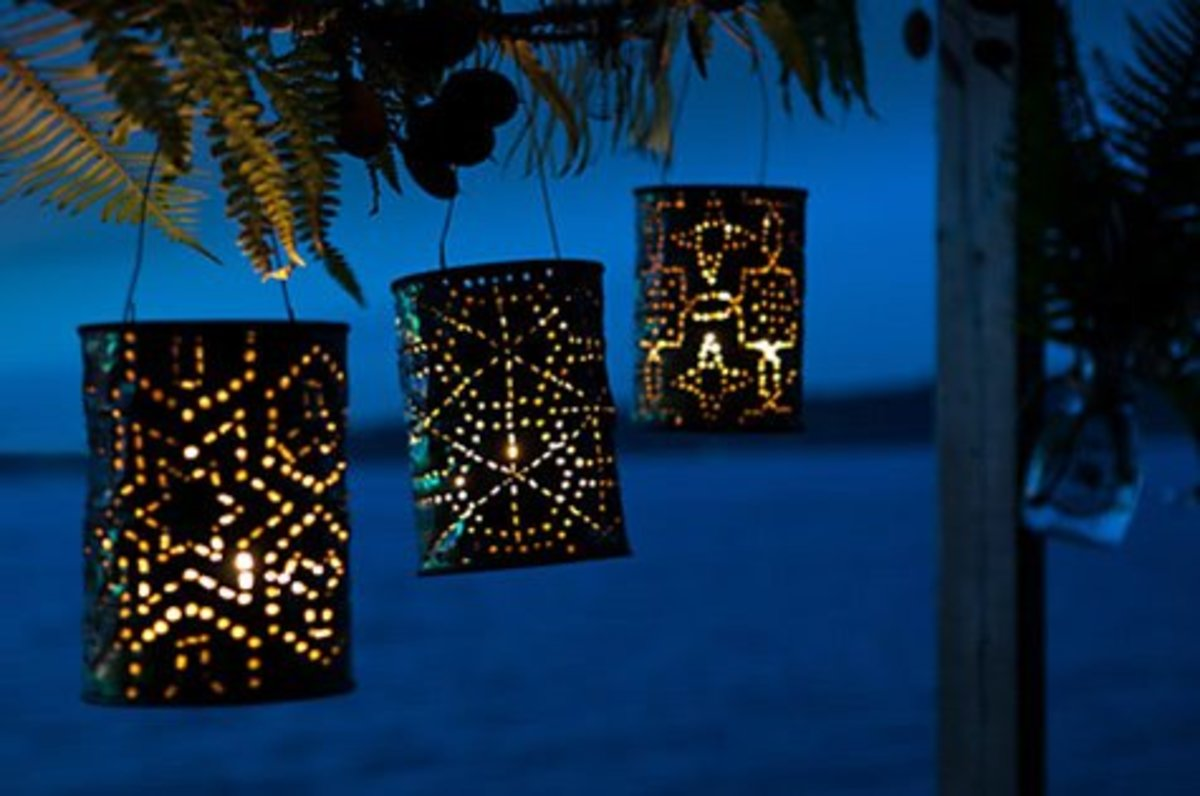 Coffee Can Lanterns