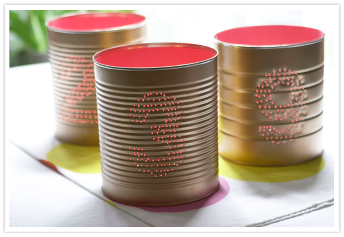 20 Cute And Clever Tin Can Crafts Feltmagnet Crafts