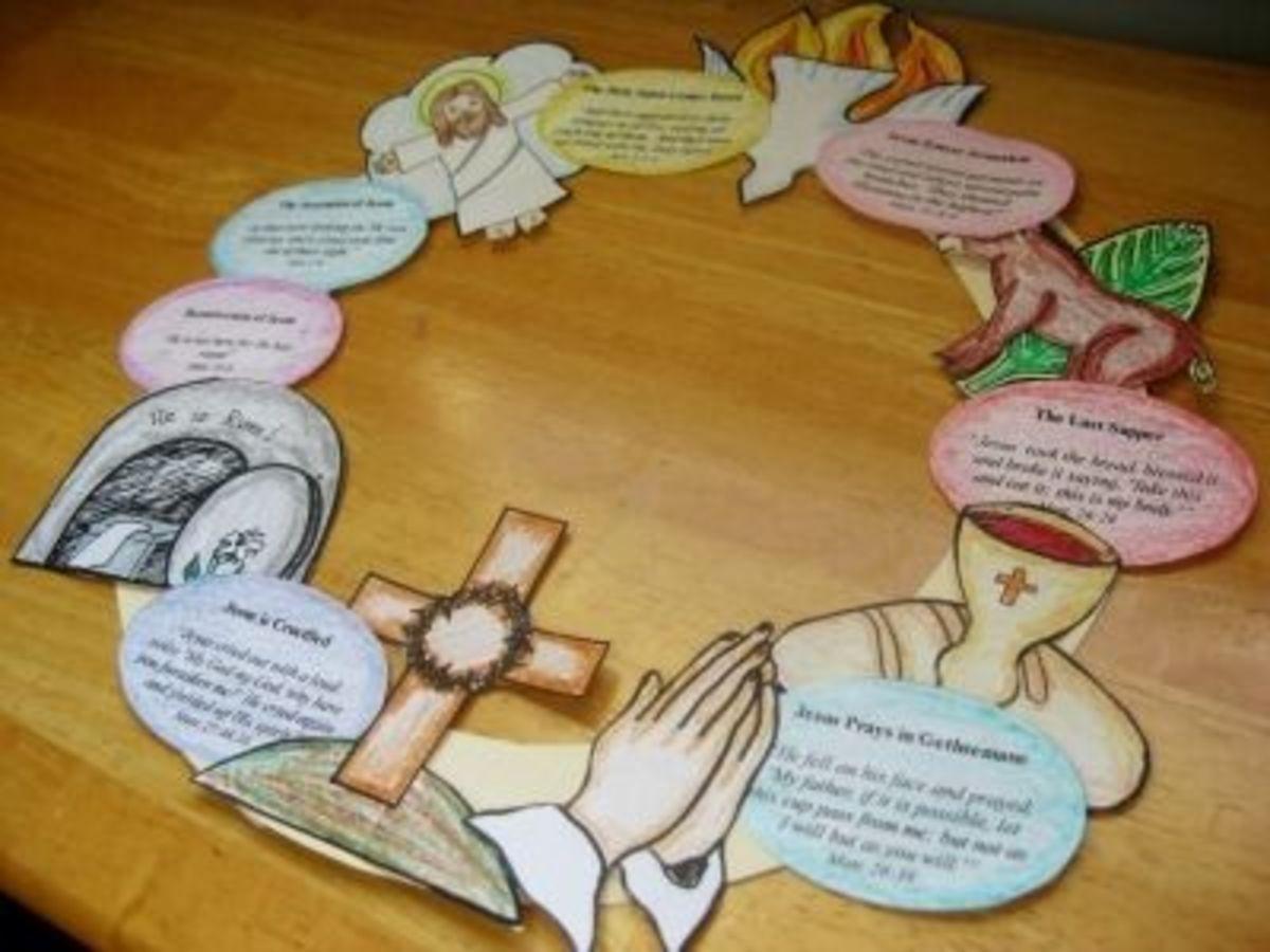 57 Outstanding Lenten Arts And Crafts Ideas Feltmagnet