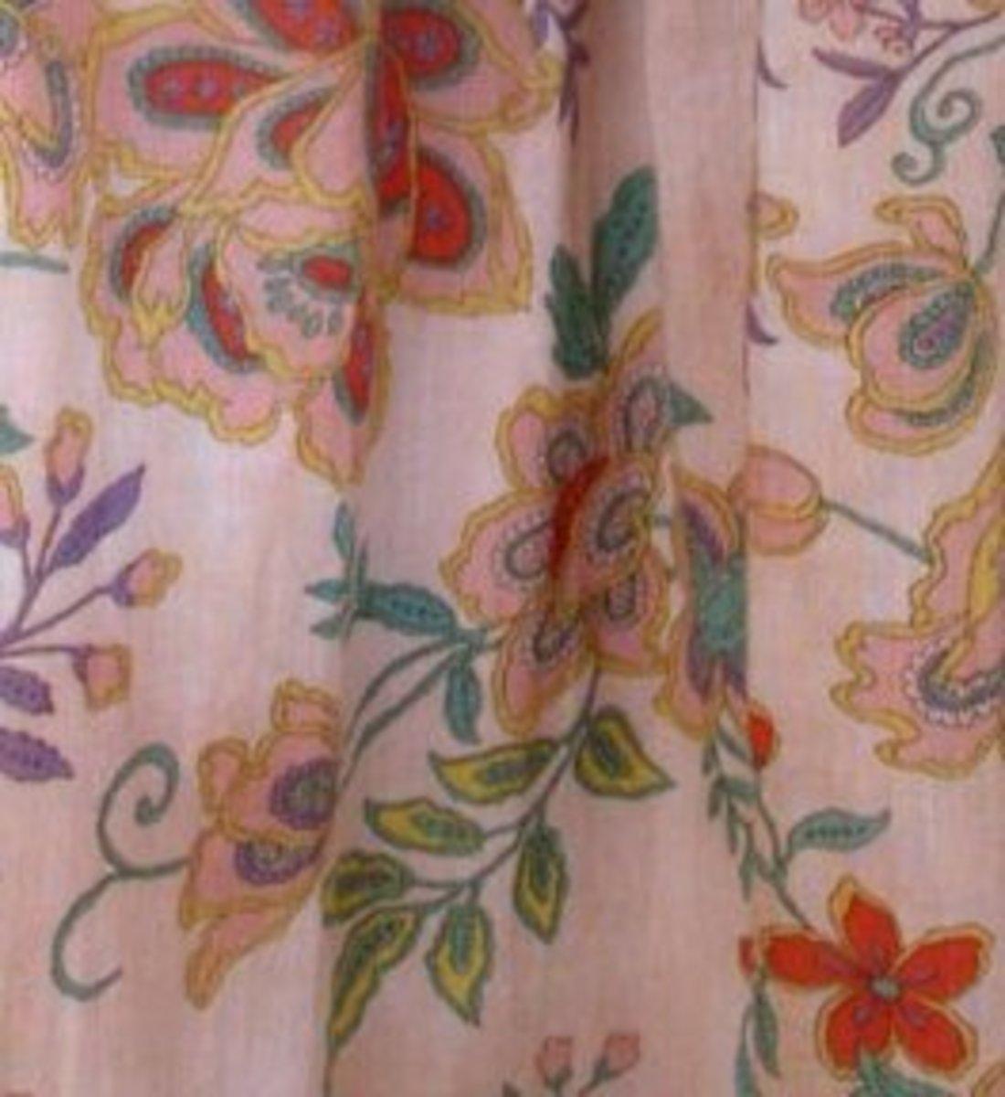 Tea-Dyed Fabric