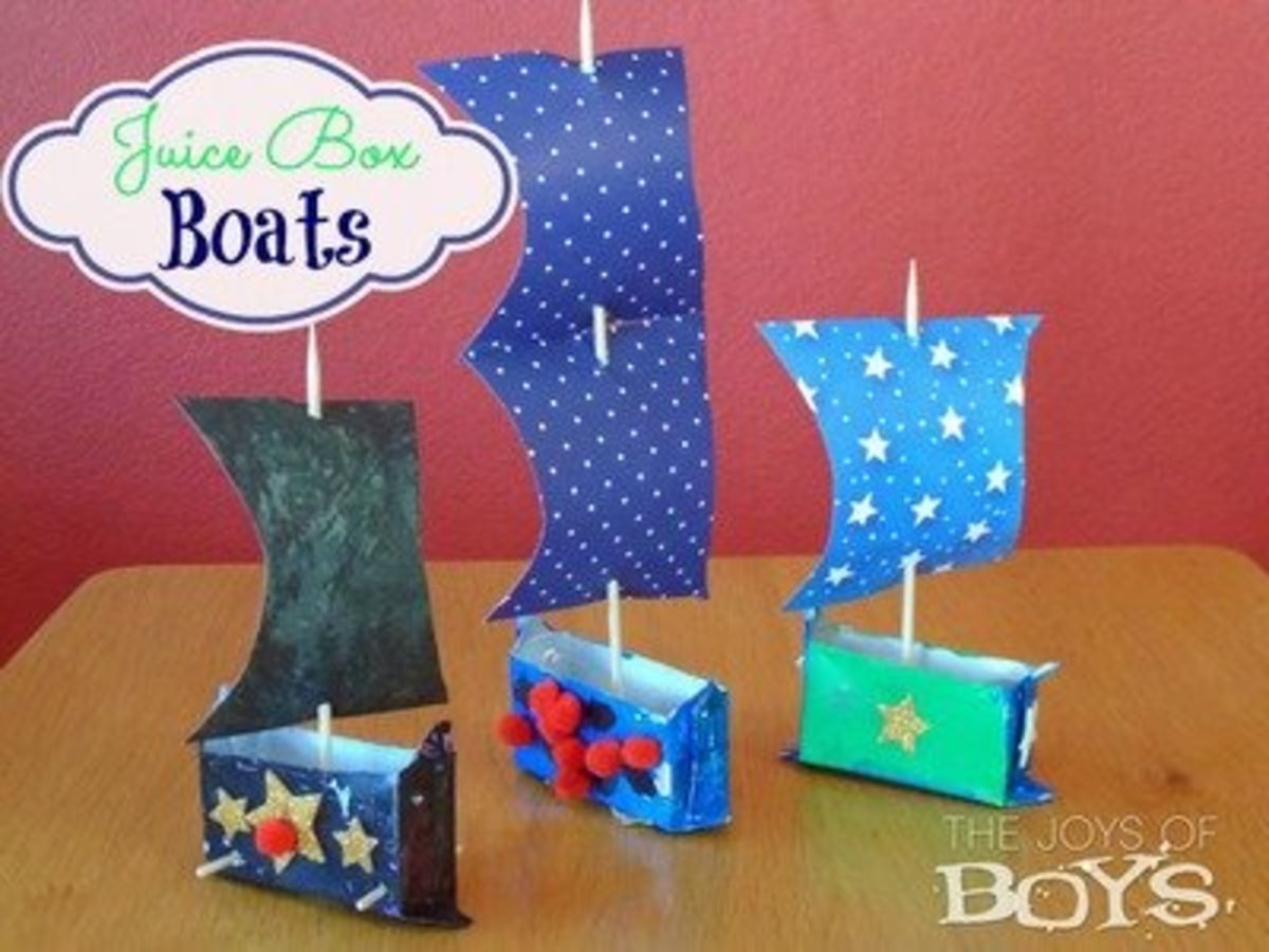 40 Craft Ideas Especially For Boys Feltmagnet