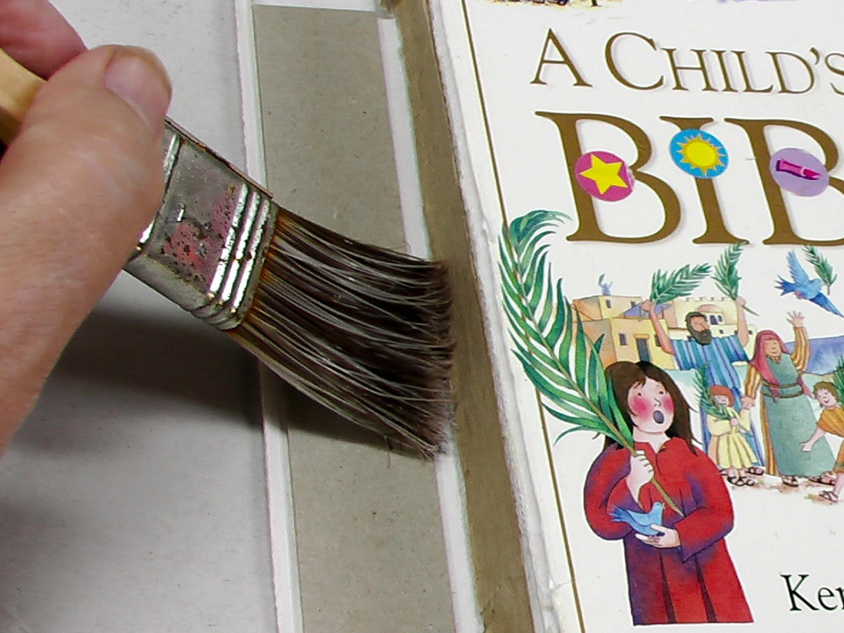 how-to-repair-a-spine-on-a-childs-bible-or-other-books-too