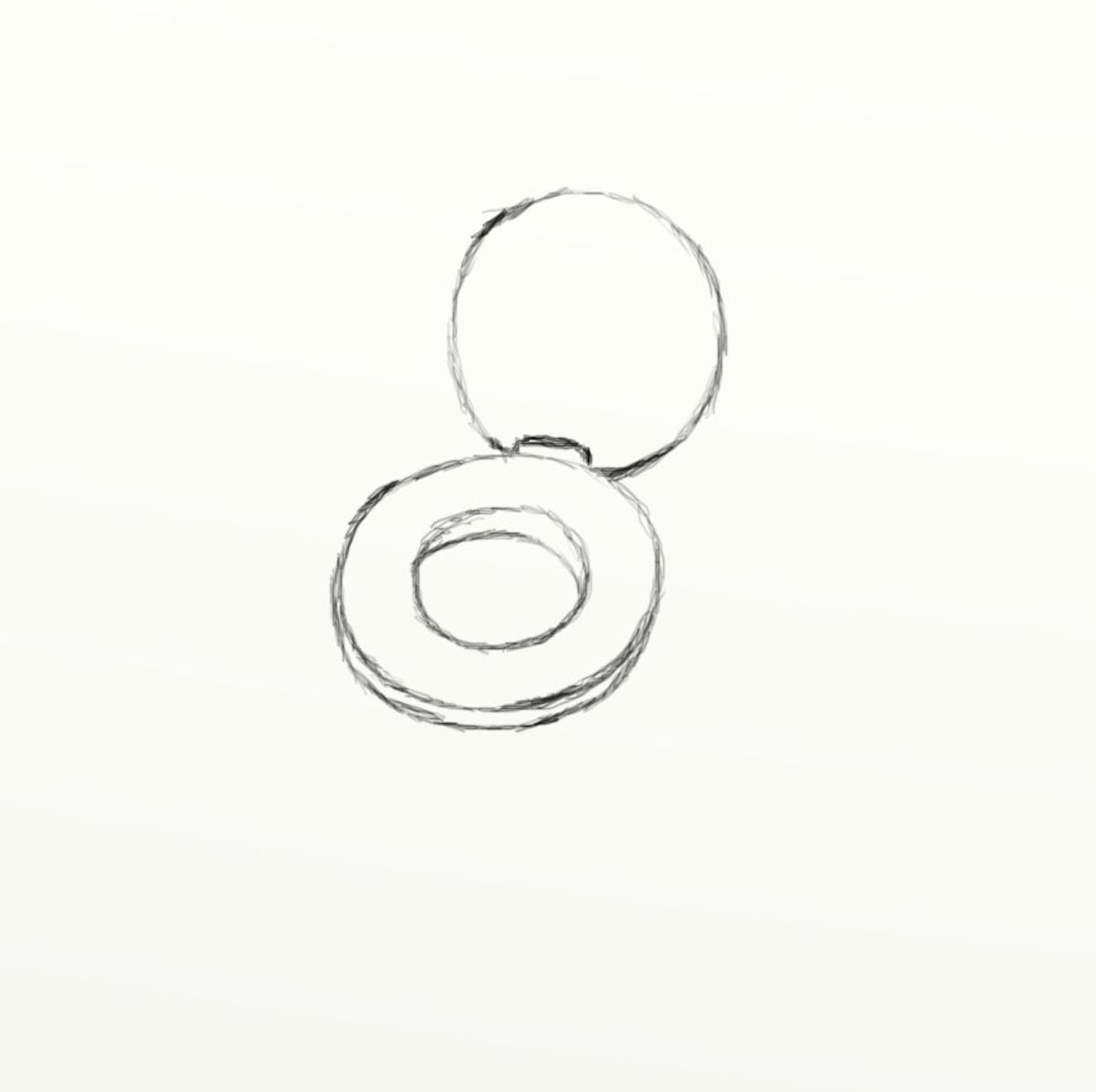 Now that the seat is done  it s time to draw the rest of the toilet bowl  itself  Draw the back bolt of the toilet seat How to draw a toilet seat   HubPages. Toilet Drawing. Home Design Ideas