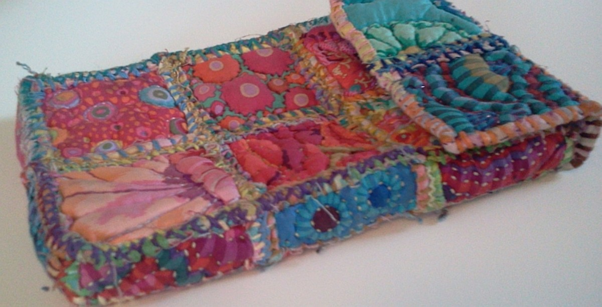 Patchwork case for Galaxy Tab