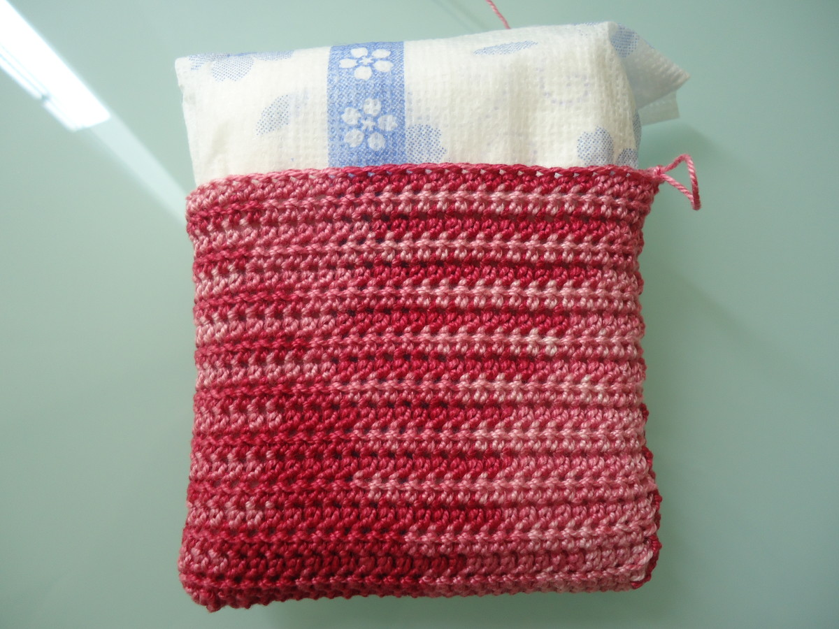 How To Crochet A Sanitary Pad Cozy Free Pattern Feltmagnet Crafts