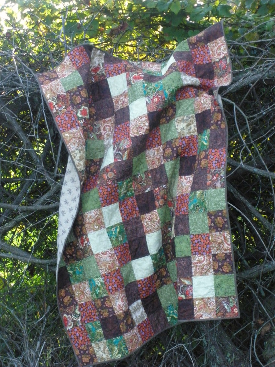 Simply squares quilt