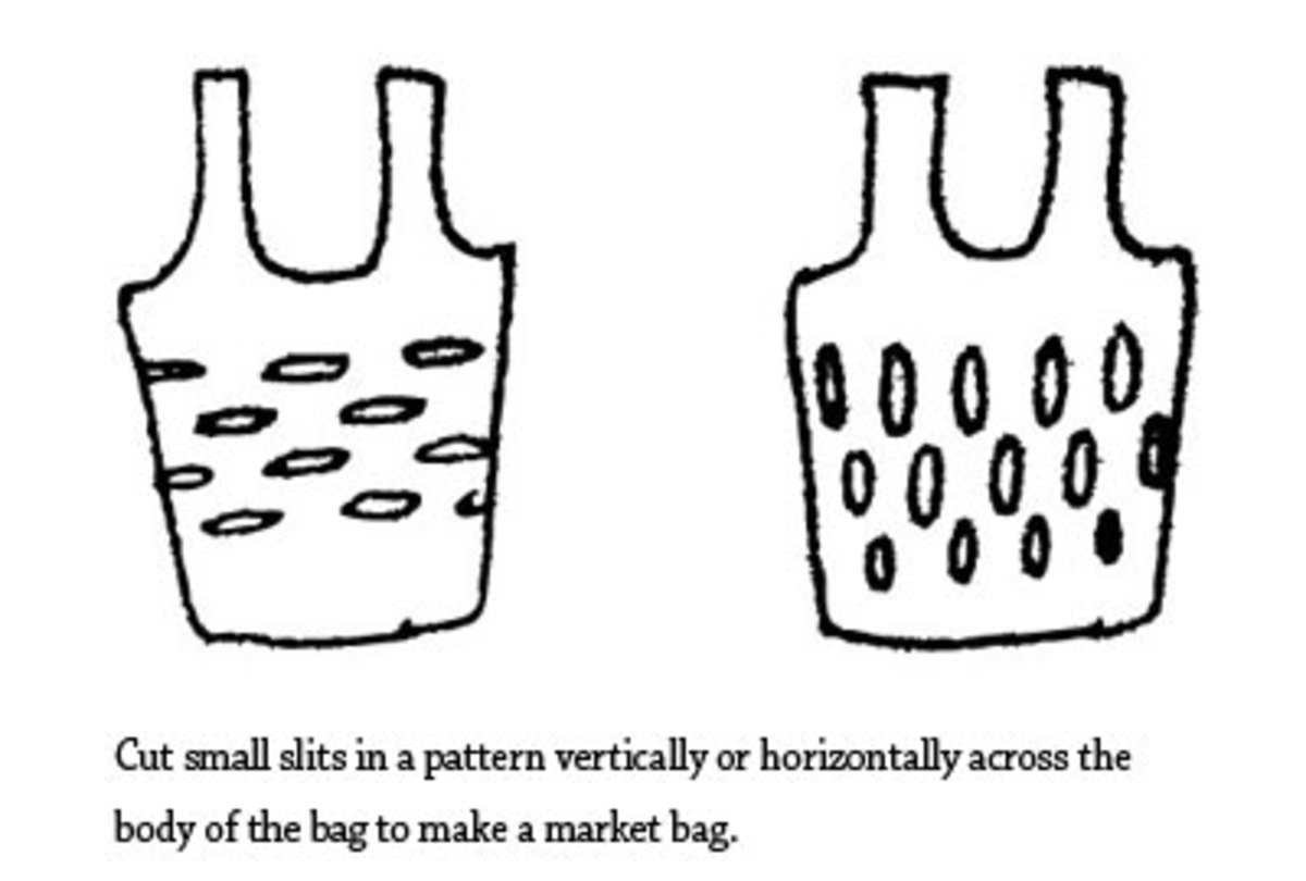 DIY Market/Grocery/Produce Bag