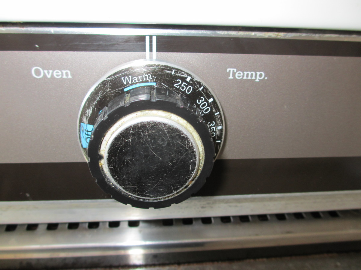 "Since my oven doesn't go below 200°F, I used the ""Warm"" setting."