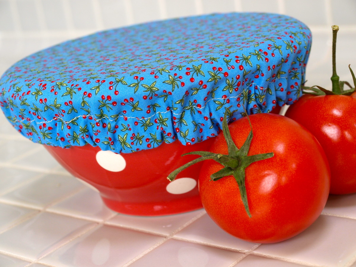 Reusable Fabric Bowl Covers