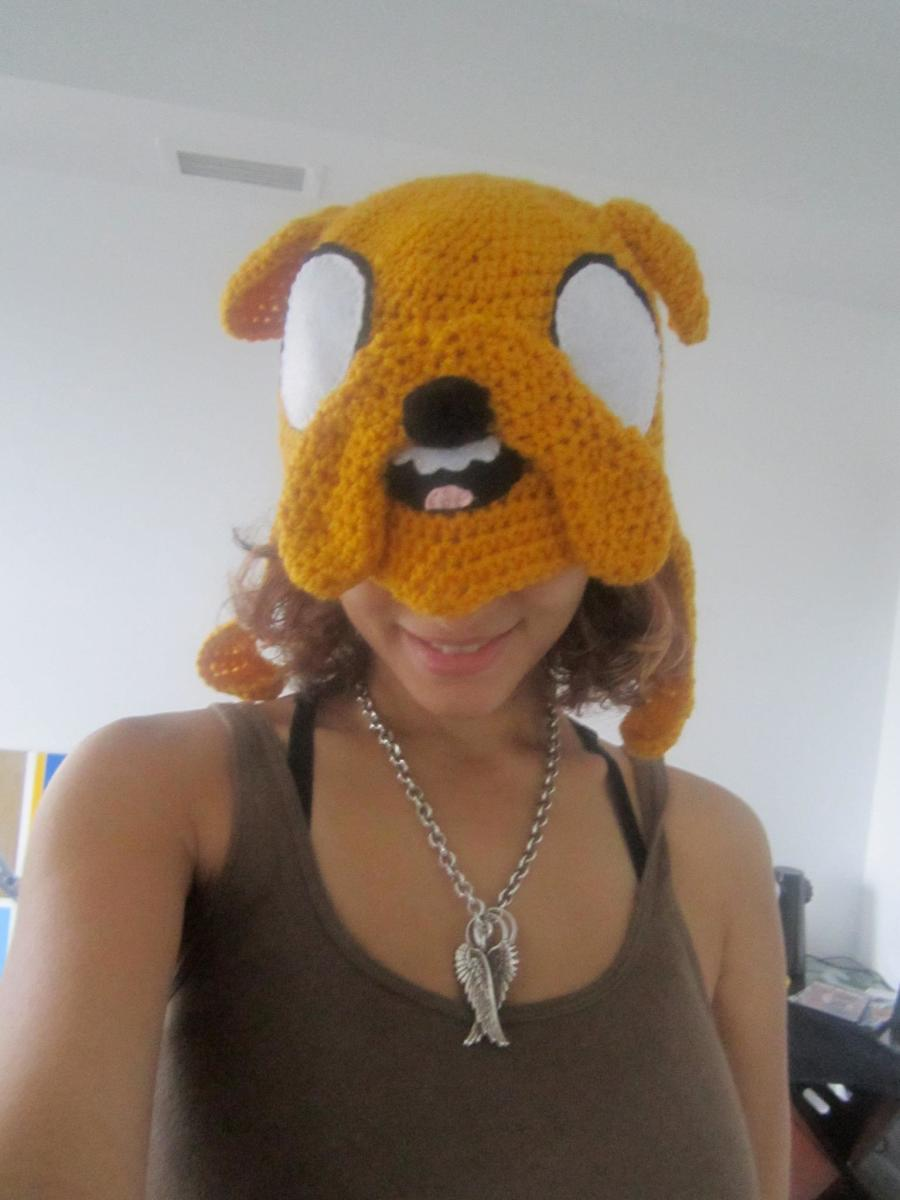 Crochet Jake Hat from Adventure Time