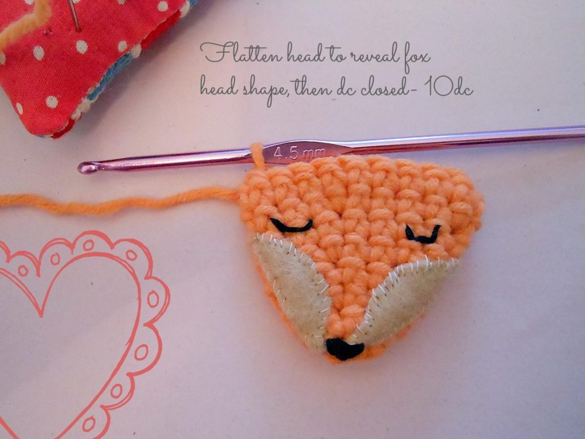 Crochet the head.