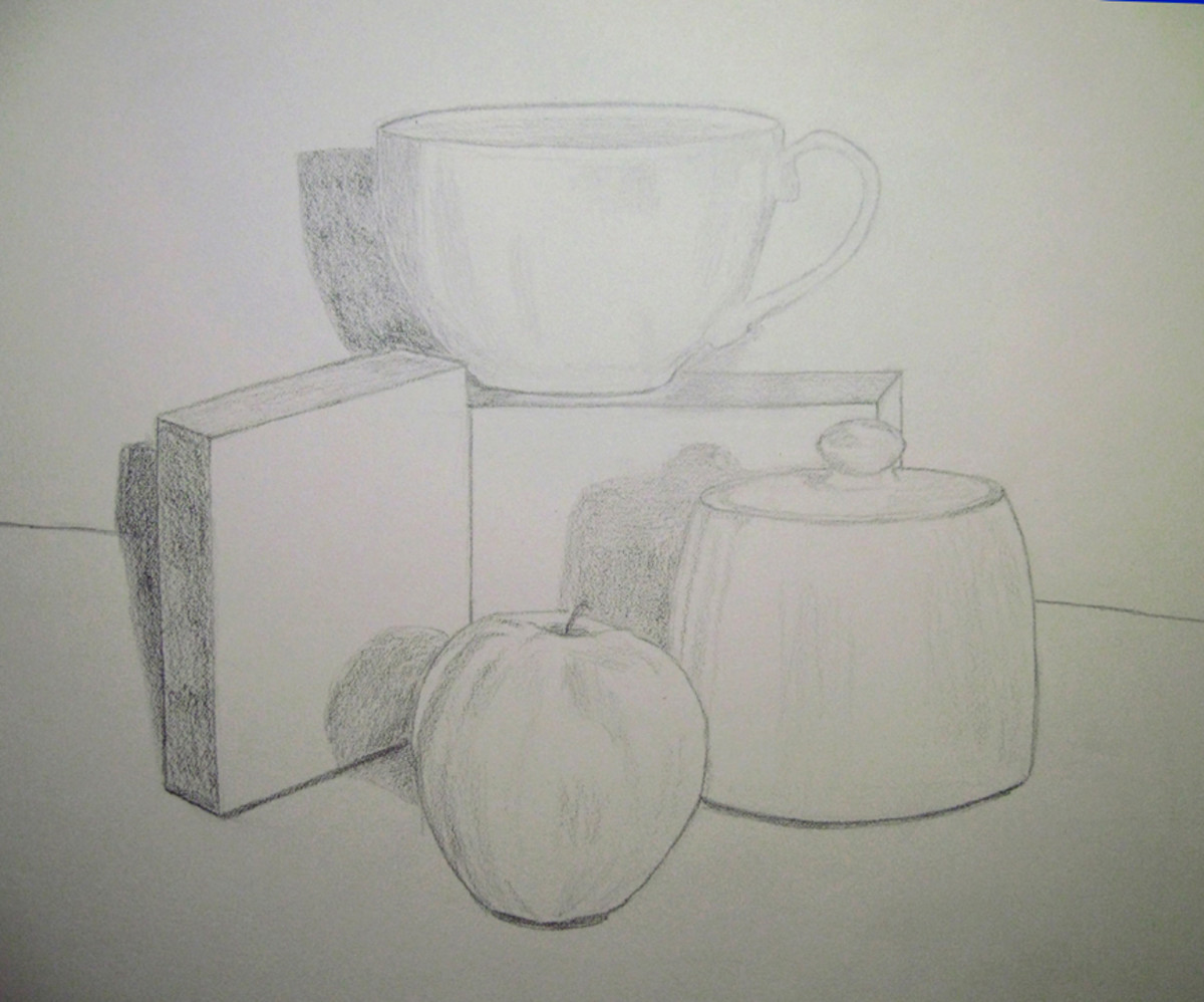 Scribble Drawing Still Life : How to draw still life feltmagnet