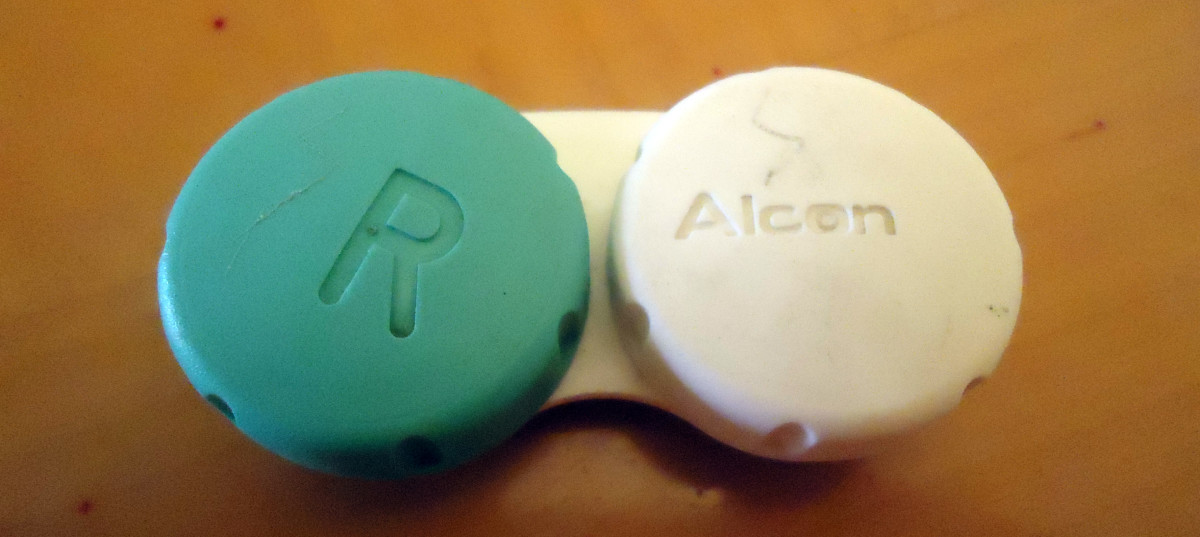 Contact case before painting