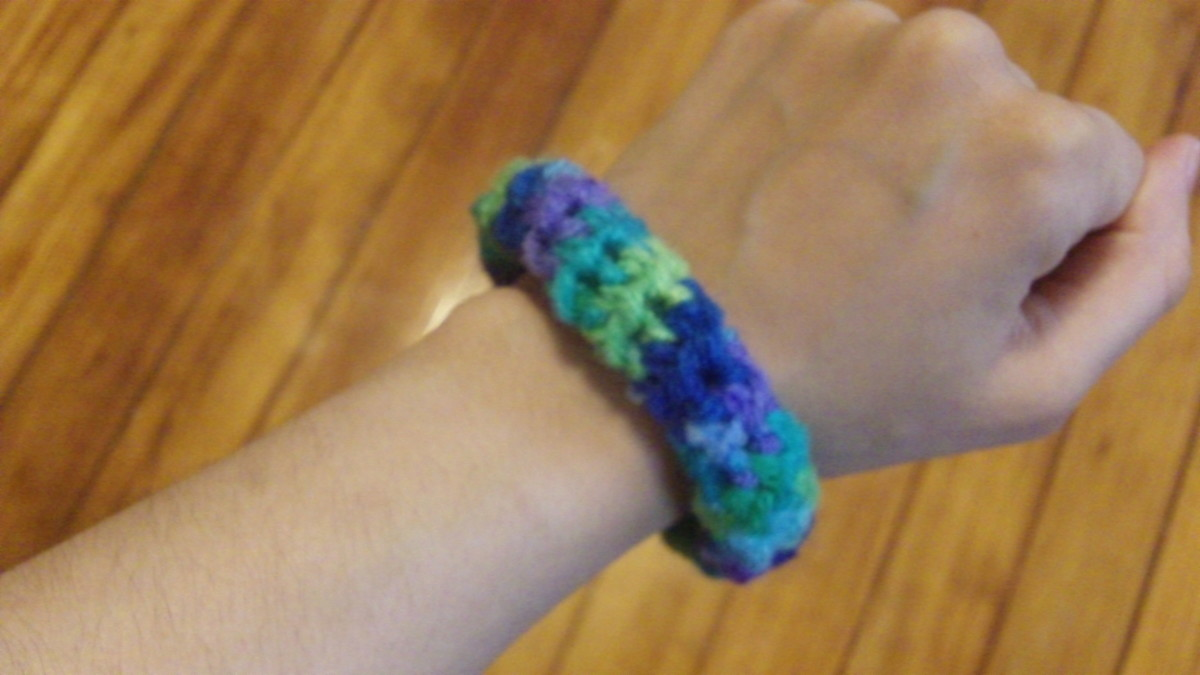 How To Crochet Bracelets Feltmagnet