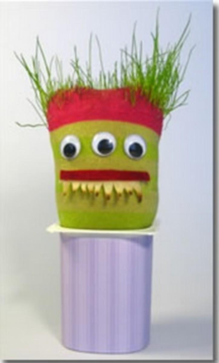 Monster Grass Head