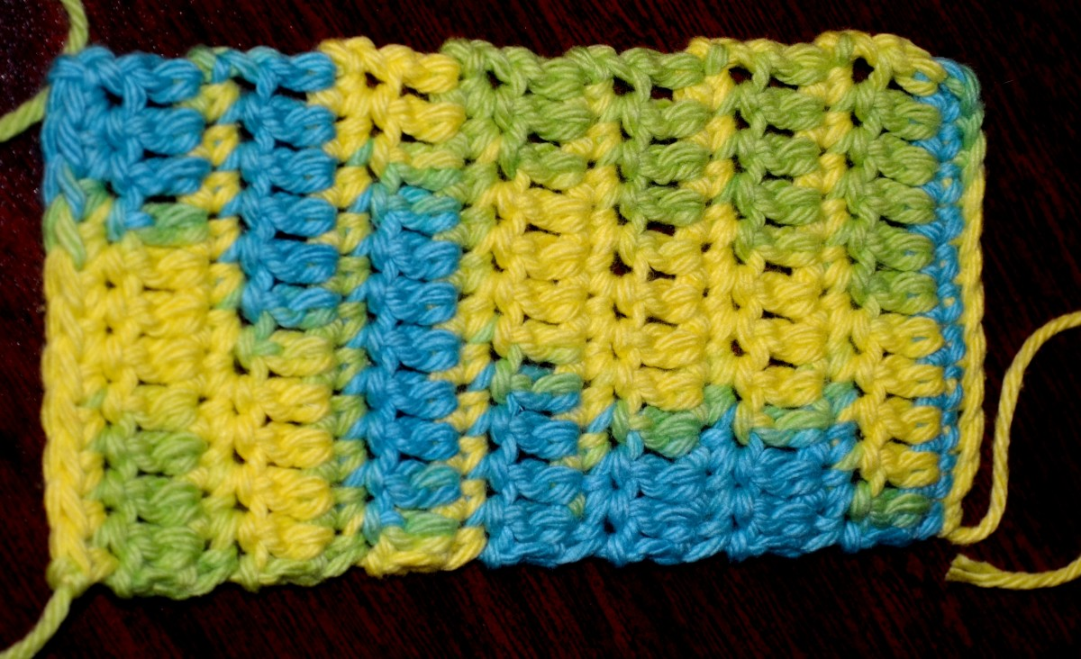 A simple gauge swatch.
