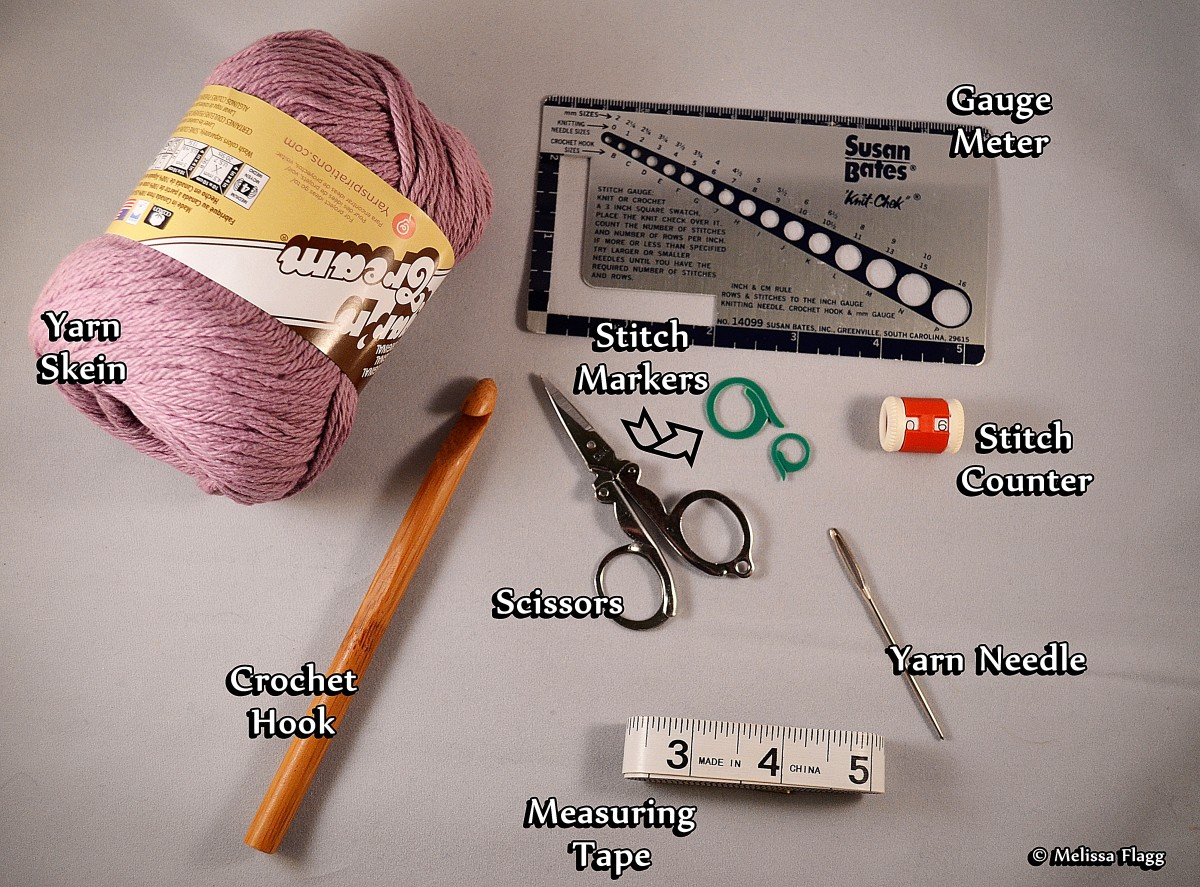 Crocheting For Beginners Supplies : How to Crochet: Getting Started for Beginners FeltMagnet