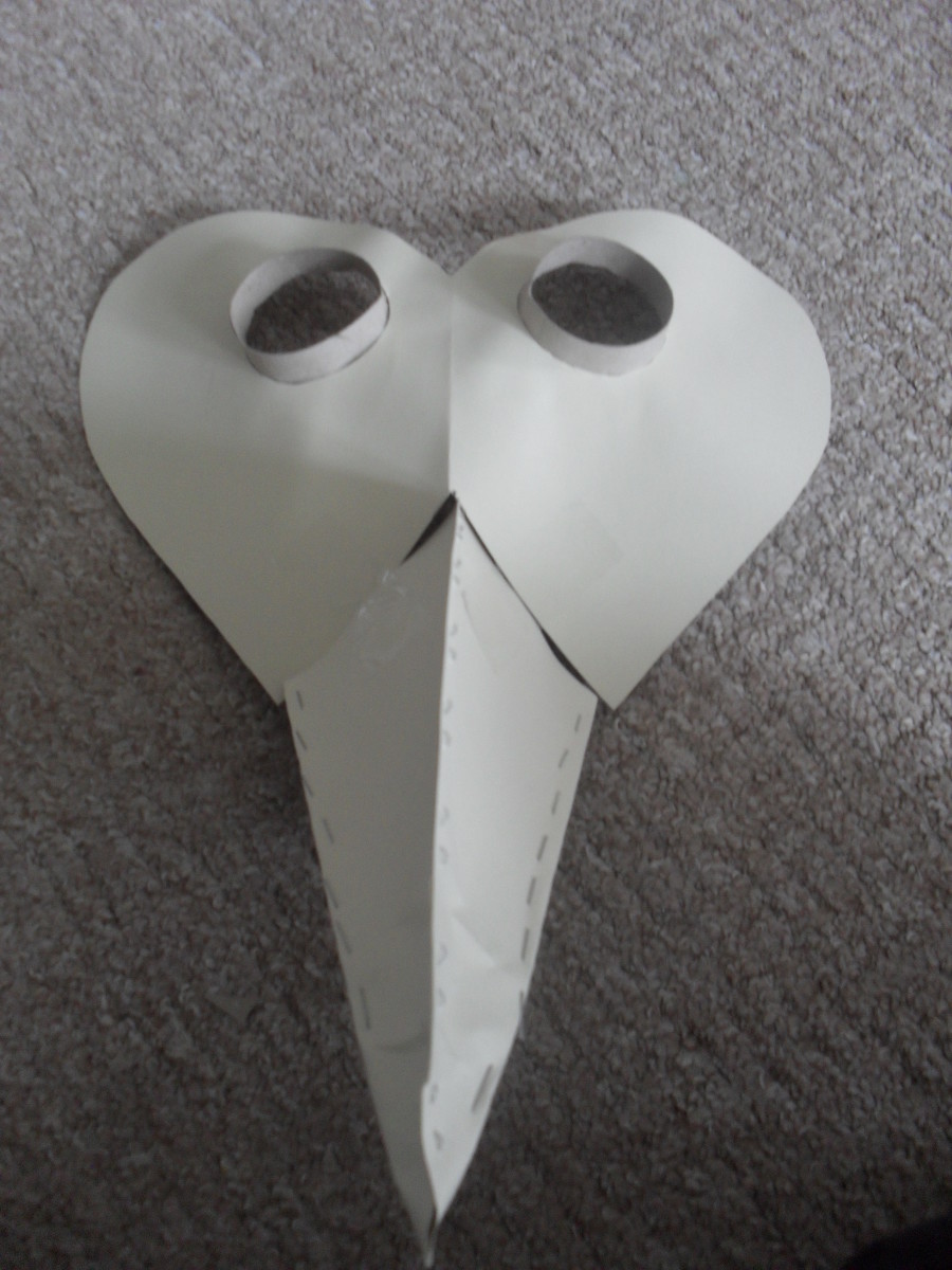 How to make an easy diy plague doctors mask with lesson ideas for have a look at the results below maxwellsz