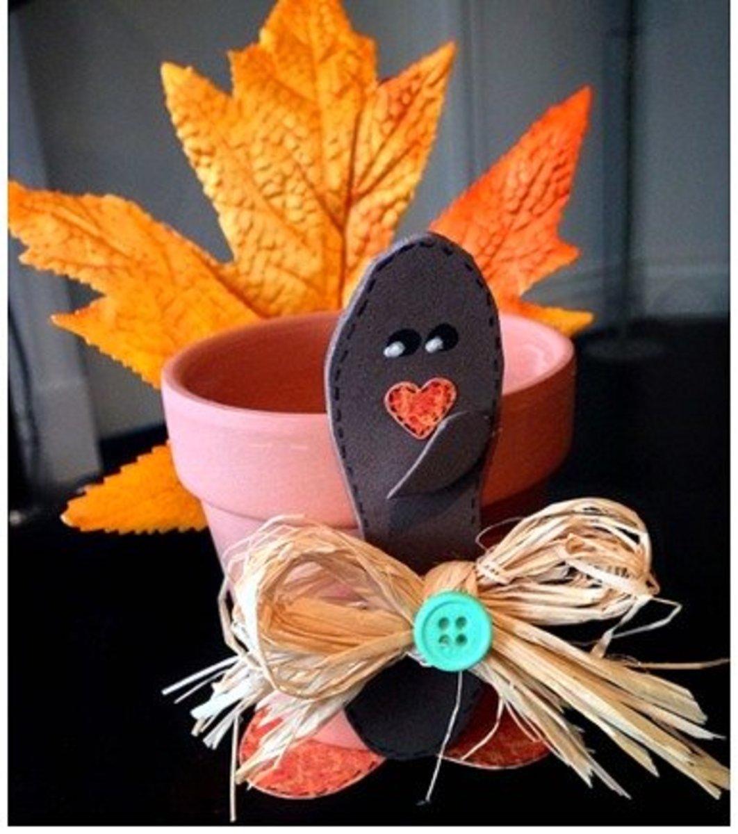 57 Inspiring Clay Pot Crafts Feltmagnet