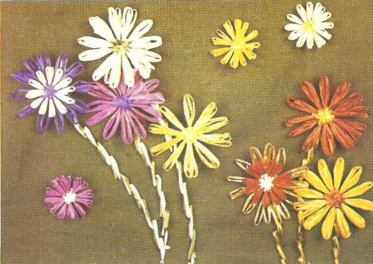 Raffia Flowers