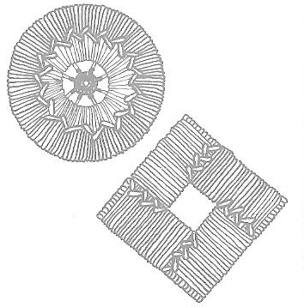 Figure 2 - Two Unusual Mats