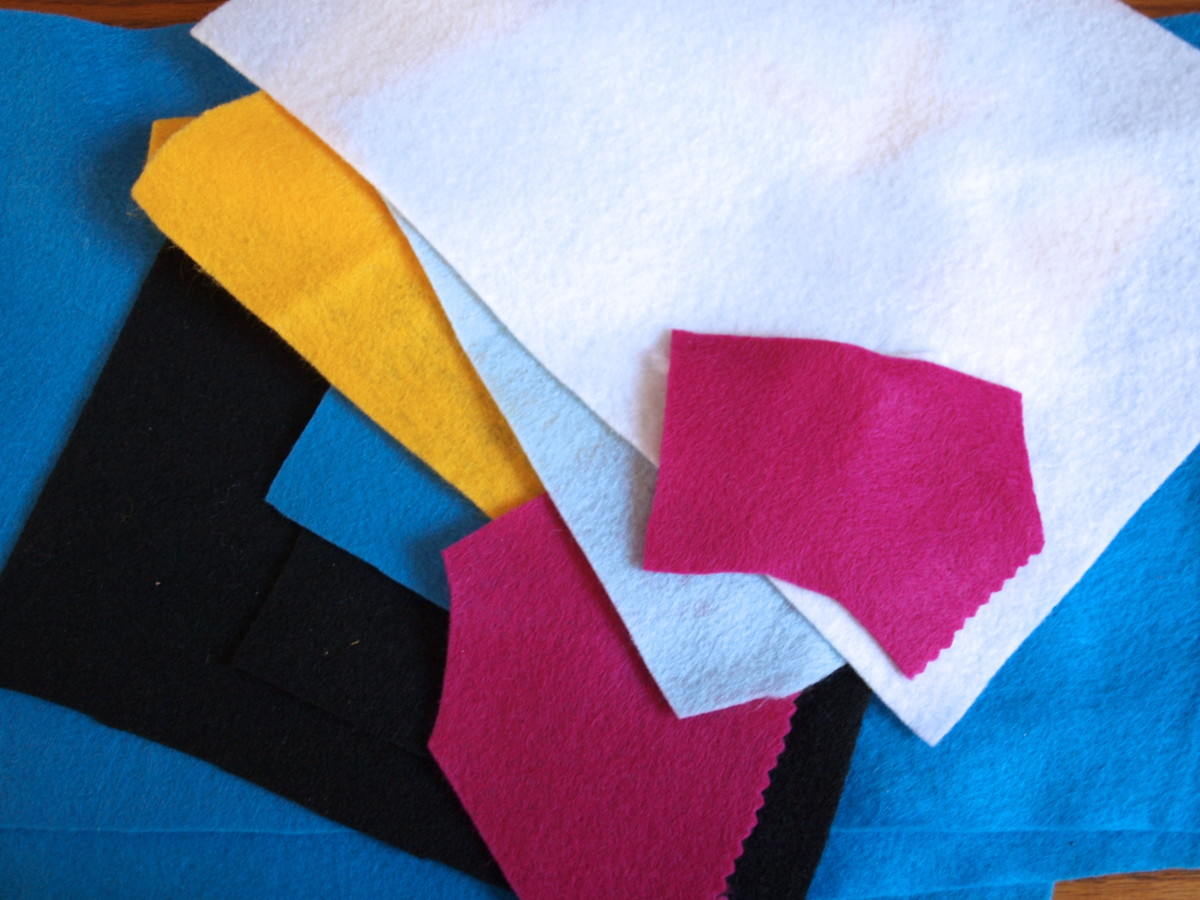 Choose the felt colors you want to use.