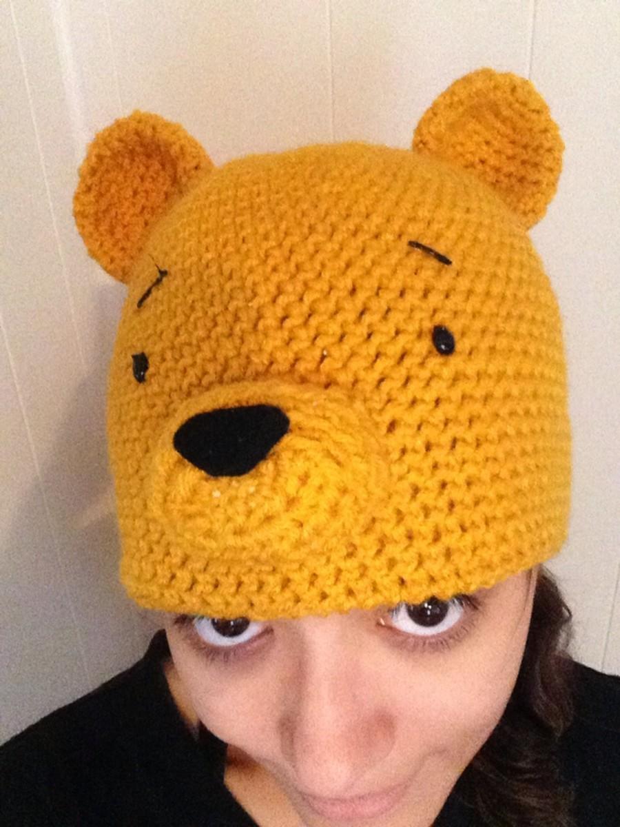 Crochet Winnie the Pooh Hat