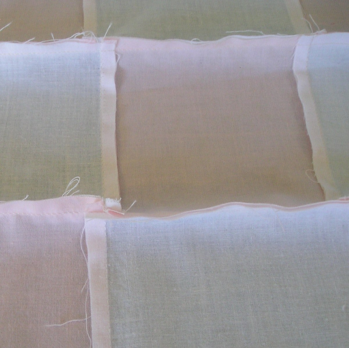 quilting seams