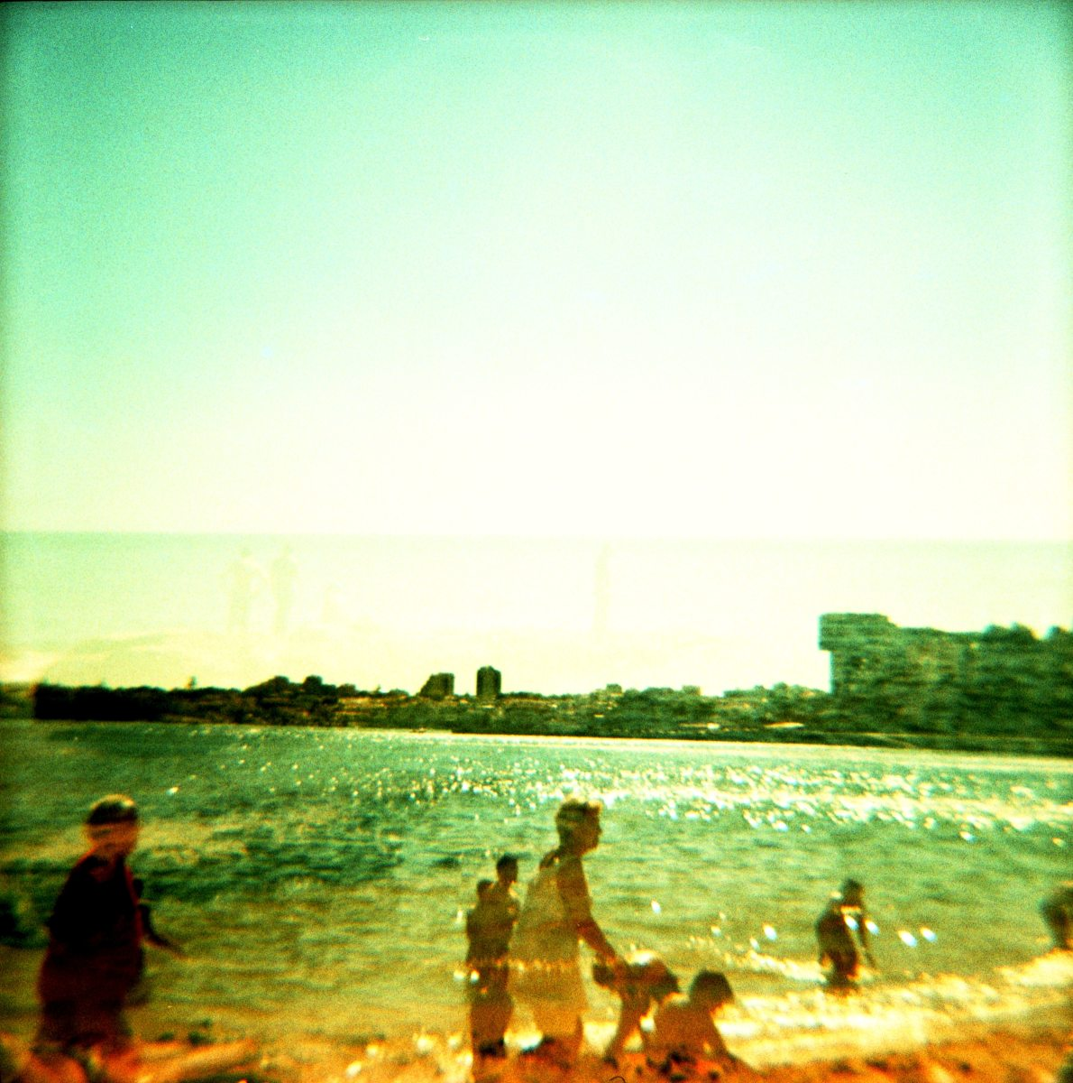 A double exposure I did with a Diana camera