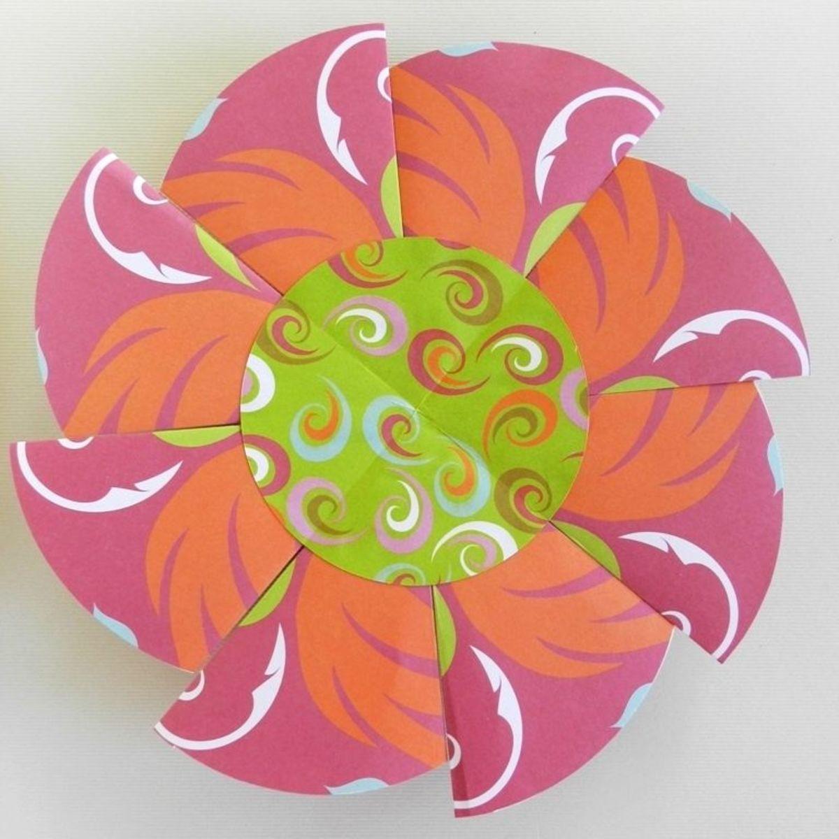 paper-rosette
