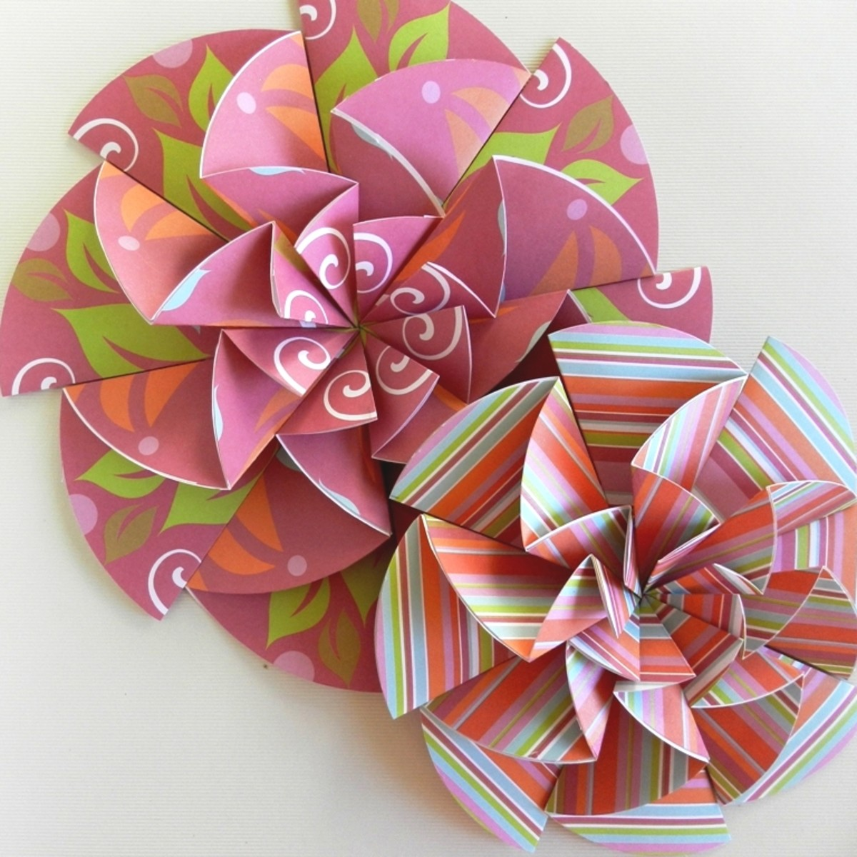 Stunning Paper Rosettes for Party Decor