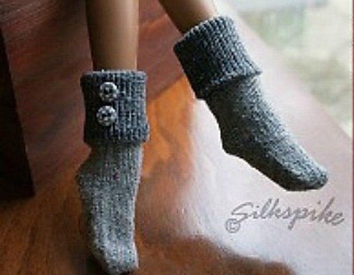 Barbie lounge socks