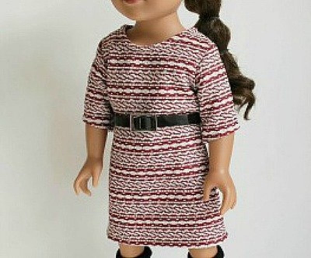56 Free Doll Clothes Patterns: All Sizes | FeltMagnet