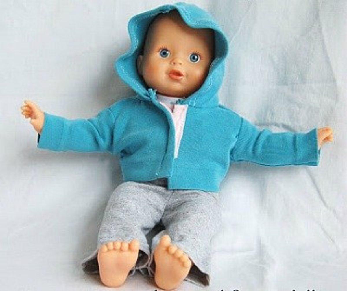 Hooded sweatsuit set