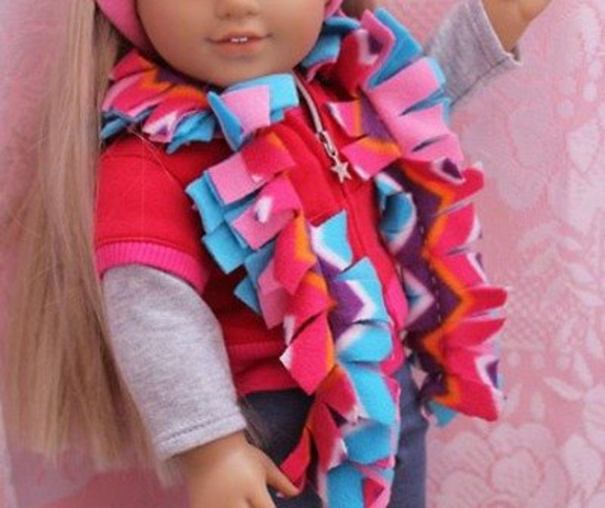 Fluffy scarf