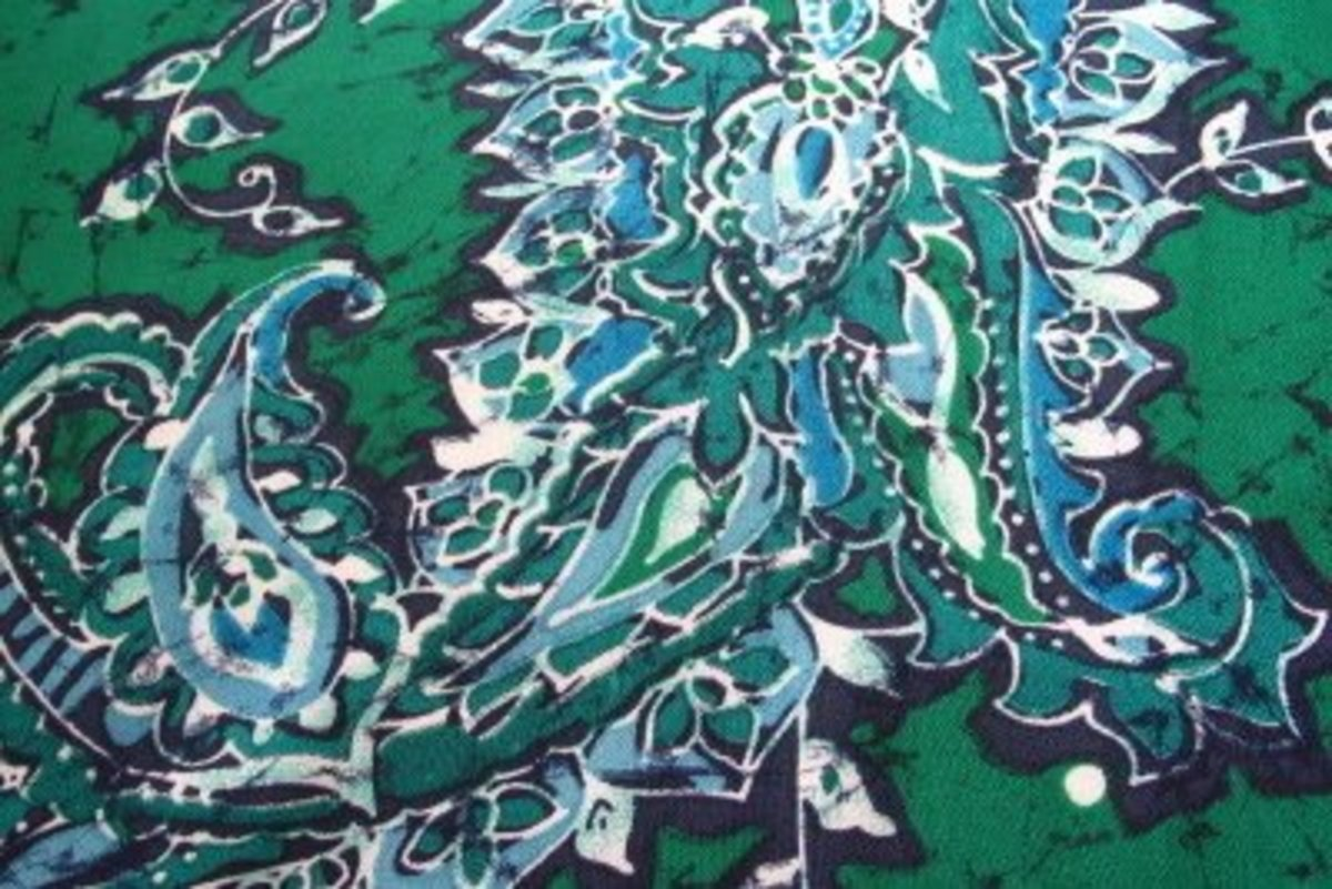 DIY: Design Your Own Fabrics With Different Batik Techniques