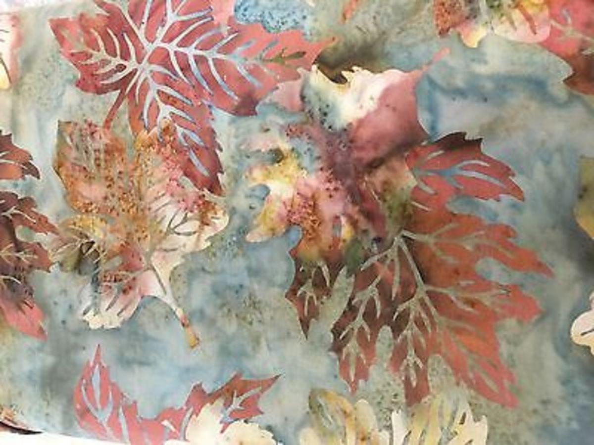 Design Your Own Fabrics With Different Batik Techniques