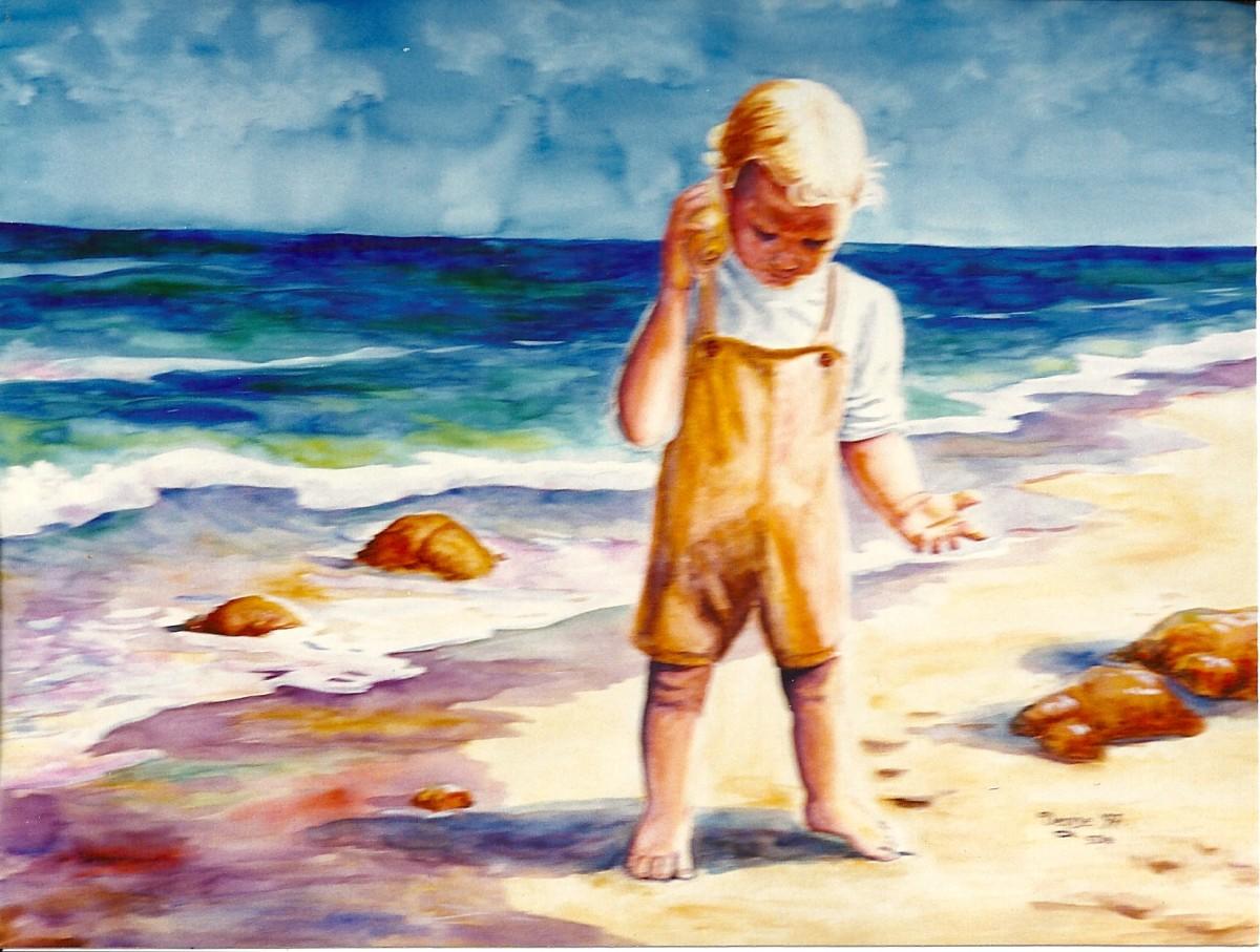 Beach comber.