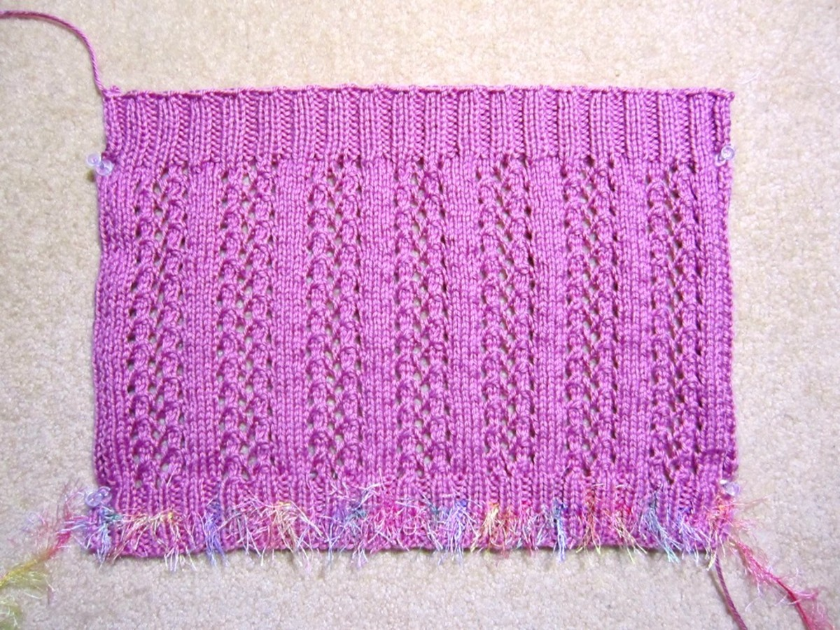 Knit a Rectangular Shape!