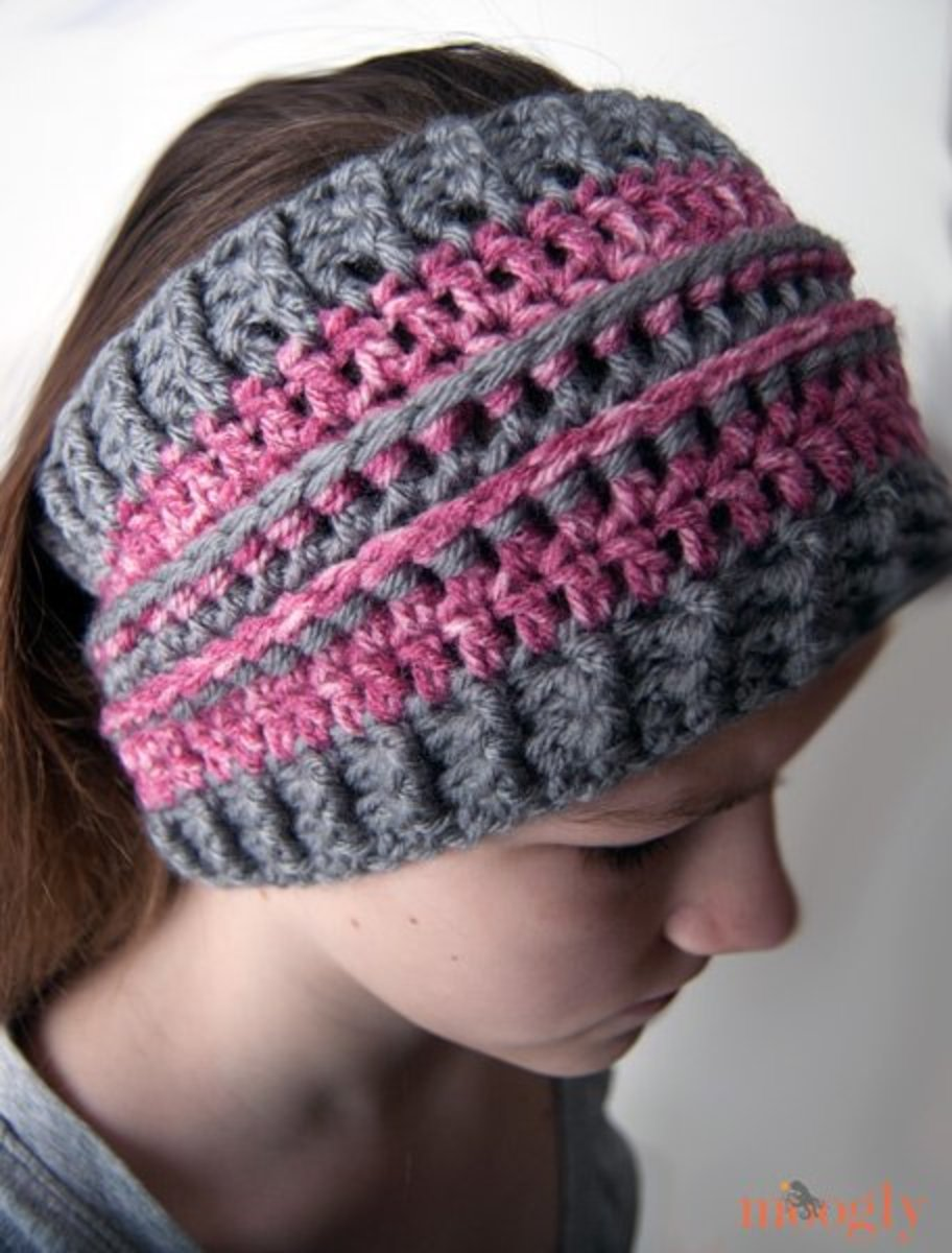 All Grown Up Ear Warmer Pattern