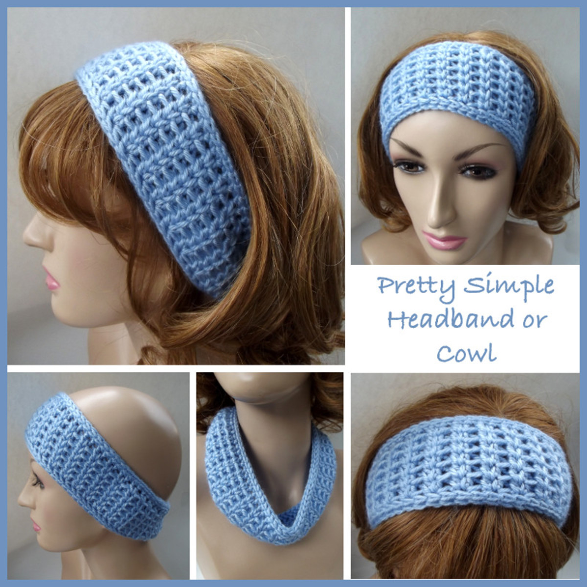 Pretty Simple Crochet Headband