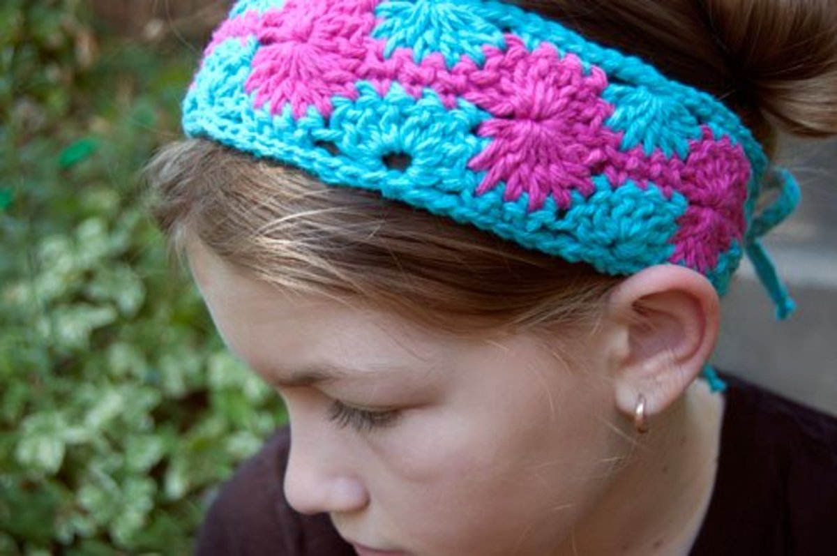 Crochet Catherine Headband