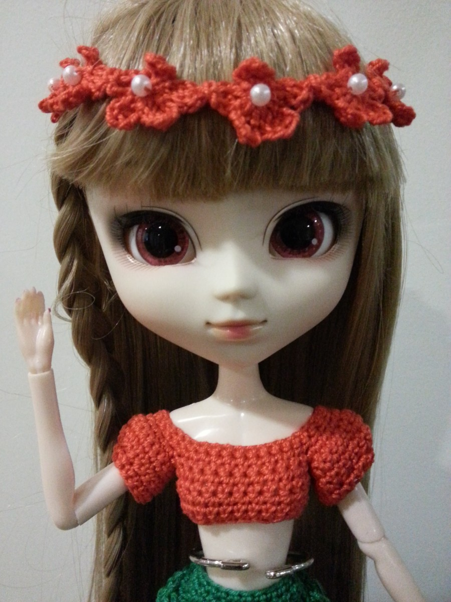 Pullip Flower Headpiece