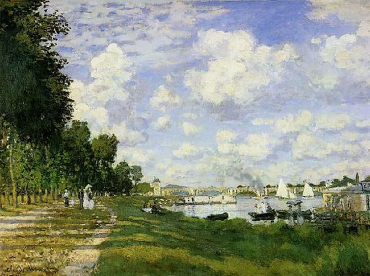 The Basin at Argenteuil,  circa 1872, Claude Monet
