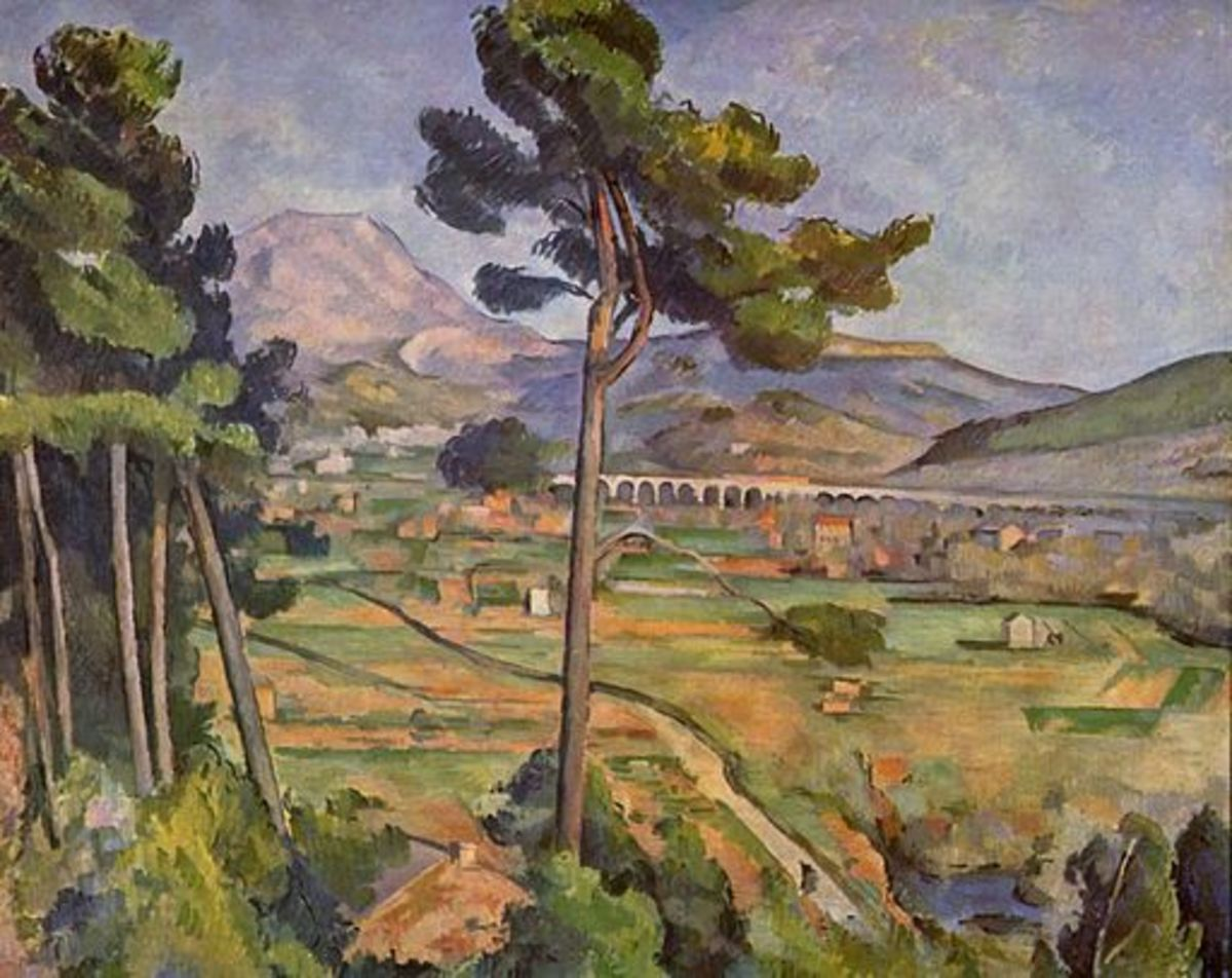Landscape with Viaduct, 1885-1887, Paul Cezanne