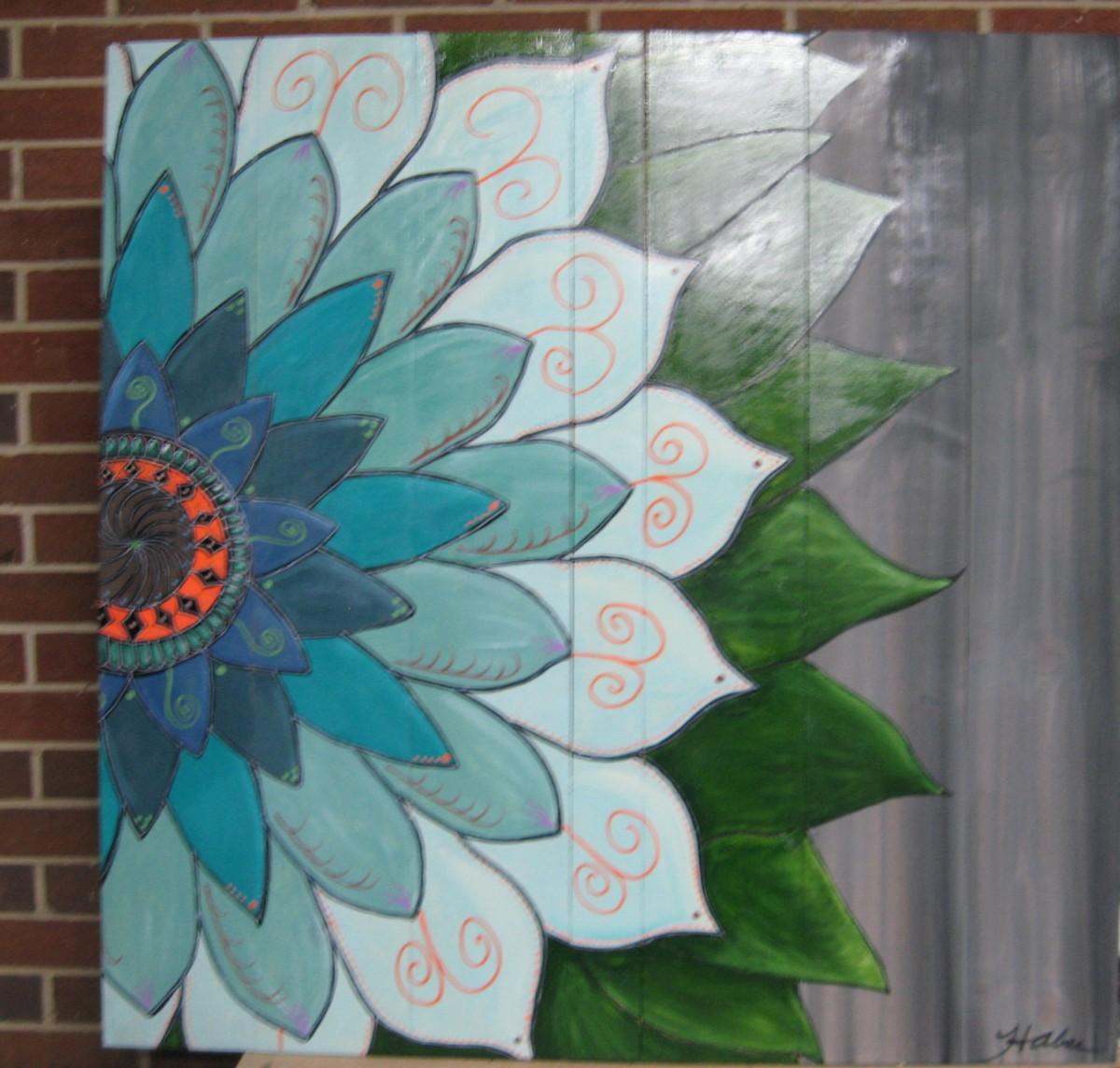 Large Mandala Flower