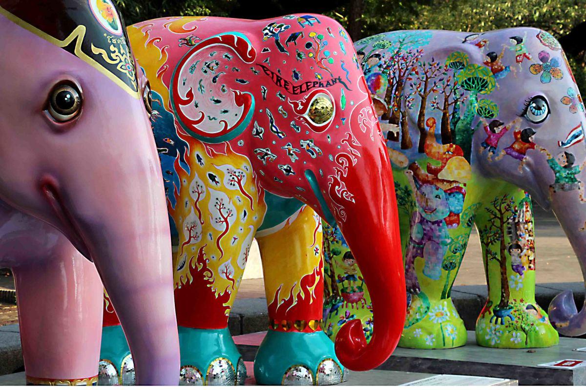 Three More Elephants